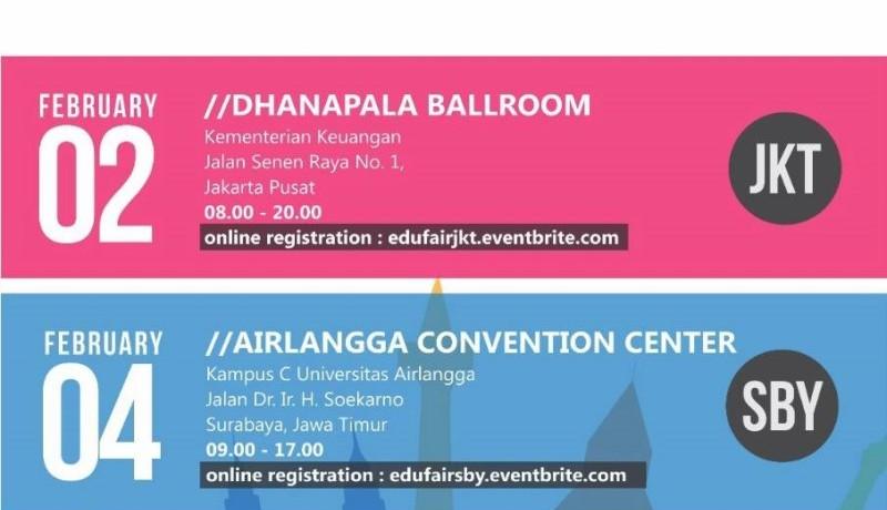 LPDP EduFair 2016 di Surabaya dan Jakarta